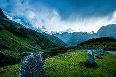 Alpine Border, Austria by Martin Walser on Austria, Mountains, Nature, Travel, Naturaleza, Voyage, Trips, Traveling, Destinations