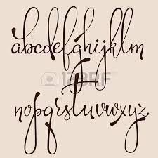 Resultado de imagen para letras vintage cursiva