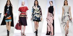 Painterly Prints | Resort 2015 Trend  #fashion trends 2014