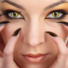 Dragon humanoid eyes