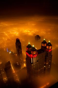 Foggy Night, Chicago…my future home