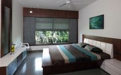 Best Beautyful Bedroom Dual House by Vpa Architects