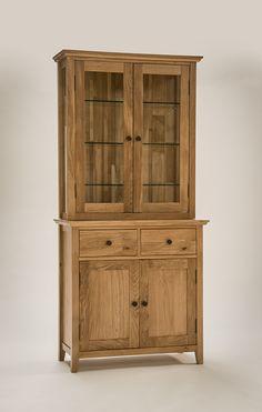 Hereford Rustic Oak Small Dresser from Oak Furniture Solutions