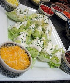 salads for a party
