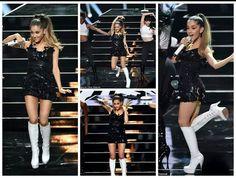 Ariana performed at VMA'S 2014