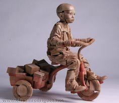 "Efraim Rodriguez Cobos, ""My Red Tricycle"""