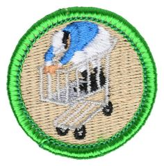 Shopping Cart Racing Merit Badge