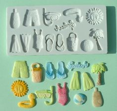 Using Moulds make a daily life products.