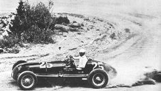 Louis Unser of the famous Unser family won the Pikes Peak Hillclimb in 1946 and 1947 driving an ex-Shell Maserati Pikes Peak, Colorado Springs, Maserati, Vintage Race Car, Vintage Auto, Hill Climb Racing, Drag Cars, Indy Cars, Antique Cars