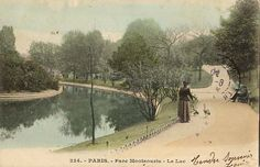 """Chapter 3: At the end of a busy night, Brett and I hopped into a taxi and I said to the driver """"go to the Parc Montsouris,"""" (32). Does it not look like a peaceful place?"""