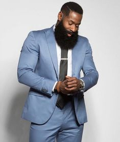 Sharing photos of black men to combat the erasure in the beard movement. Great Beards, Awesome Beards, Beard Game, Epic Beard, Black Men Beards, Hairy Men, Beard Model, Beard Styles For Men, Beard Grooming