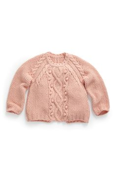 Buy Pink Cable Sweater (3-16yrs) from the Next UK online shop