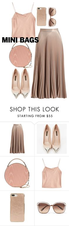 """""""mini bags"""" by bbywolfy ❤ liked on Polyvore featuring A.L.C., Louis Vuitton, Eddie Borgo, Alice + Olivia, Kate Spade and Chloé"""