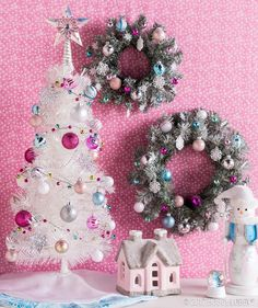 For a fun-size Christmas corner, check out the My Little Christmas collection of trees, wreaths, ornaments and more!