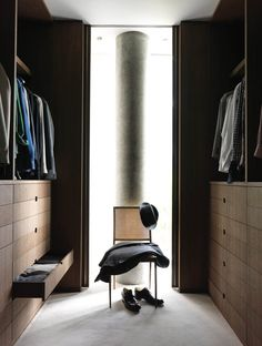 Walk-in closet, wardrobe