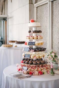 Something's Brewing Wedding Cupcakes