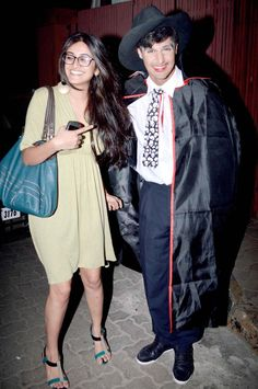 Celeb couple at Halloween party of Rocky S. #Bollywood #Fashion #Style #Beauty