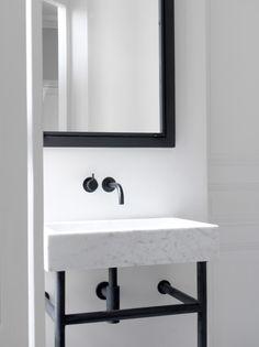 Dornbracht Tara Google Search Bathroom Marblebathroom Blackwhite