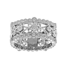 Gorgeous antique style right hand Ring !