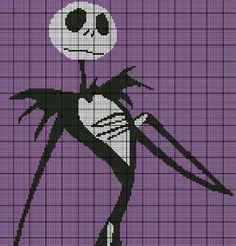 Nightmare before christmas - Tapestry crochet geek patchwork ...