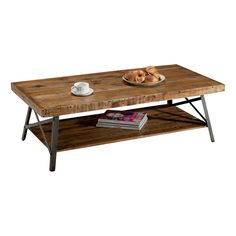 Skylar Reclaimed Wood Coffee Table- Living room