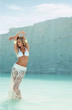 Candice Swanepol for fashion label Água de Coco's Spring/Summer 2013 Swimwear Campaign | on Design You Trust