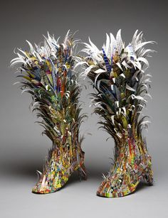 Albany Institute features contemporary art shoes in 'Perfect Fit' and old shoes from its own collection – Maria Silvia