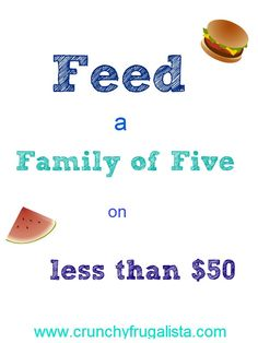 It's Time for a Pantry Challenge: Feed your family of five for less than $50 and what's in your pantry! #frugal #cooking http://www.crunchyfrugalista.com/its-time-for-a-pantry-challenge/