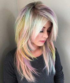 Soft Pastel Hair
