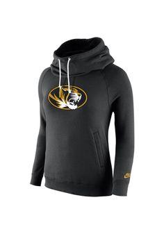 Missouri Tigers Nike Hooded Sweatshirt - Tigers Womens Black Rewind Funnel Long Sleeve Hoodie http://www.rallyhouse.com/shop/missouri-tigers-nike-12511306?utm_source=pinterest&utm_medium=social&utm_campaign=Pinterest-MizzouTigers $65.00