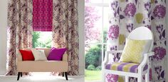 The Chantilly Fabric Collection from Wilman Interiors #Chantilly #FABRIC