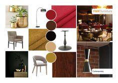 Einrichtungsstile - Komplettausstatter Gastronomieeinrichtungen Home Design, Interior Design, Design Styles, Contemporary Furniture, Mood, Fashion Design, Paint Palettes, Interior Designing, Nest Design