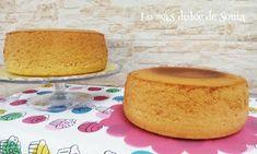 Lo más dulce de Sonia: Bizcocho genovés XXL, ideal tartas