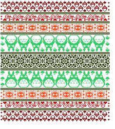 Fair Isle Ravelry: Skirtyfydes Totoro-inspirierte lettische Gartendecke Make Woodworking More Enjoya Fair Isle Knitting Patterns, Knitting Charts, Knitting Stitches, Knit Patterns, Hand Knitting, Cross Stitch Patterns, Vintage Knitting, Motif Fair Isle, Fair Isle Chart