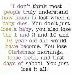 Yes today is just one of those days when I'm truly missing you. I have good and bad days.. Today is a bad day. #miscarriage