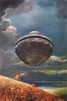 Cover art by Bruce Pennington for Children of Tomorrow (1972)