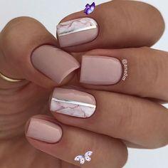 18 Trending Summer Nail Designs 2018 - E2k Fashion<br> Gel Pedicure, Manicure Gel, Manicure Ideas, Manicures, Elegant Nail Art, Trendy Nail Art, Cool Nail Art, Gel Designs, Nail Polish Designs