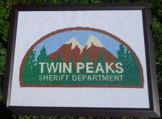 Twin Peaks cross stitch