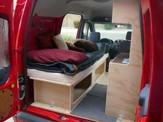 The bed is narrow but adequate and also gives you good storage underneath.