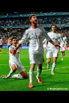 ReyesDeEuropa Sergio Ramos
