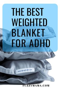 Natural Remedies for ADHD | As a mom of two ADHD boys, I know what you are going thru. Sleepless nights for your ADHD kiddo(and you!) set up a domino effect for bad behavior. Our weighted blanket from SensaCalm is the best money I spent on natural ADHD remedies. My 14 year old son settles easily and sleeps thru the night with his weighted blanket. Also, I get my evenings back and get a good night sleep myself. Check them out and shop the clearance section first. (affiliate link) Weighted Blanket For Anxiety, Best Weighted Blanket, Sensory Disorder, Sensory Processing Disorder, Parenting Books, Kids And Parenting, Parenting Tips, Adhd Strategies
