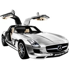 For all those men out ther drooling right now: Mercedes-Benz SLS AMG