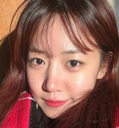 Kim NamJoo. Blue eyes vs brown? I like them both now that I get it. (lol)