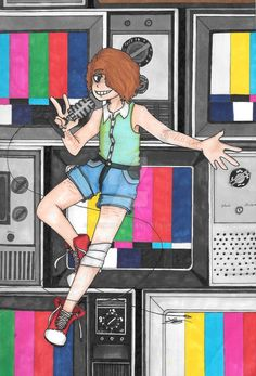 BROADCAST ILLUSION Fanart -Vocaloid- by Neal