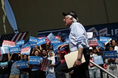 Throughout his campaign, California has been Bernie Sanders' promised land. But short on cash and with a staff shakeup, the candidate faces an uphill climb.