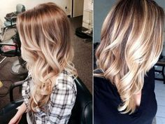 balayage+highlights | balayage-highlights-helle-haare-blonde-strahnchen-gewellt