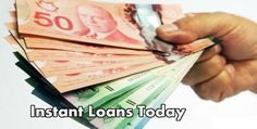 Instant loans today give you a financial support for all your sudden necessities. They help you bridge the cash gap between your 2 consecutive paydays. They are no credit check and no faxing loans that allow you get funds without any hassle. You can apply for the loan through online mode. For more details, visit at www.instantmoneyloans.ca  #instantloanstoday