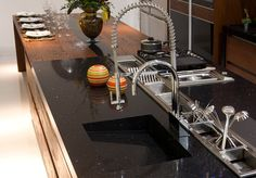 Silestone accents in the kitchen provide an unmistakable upgrade!