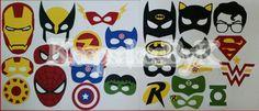 Superhero Photo Booth props #cricutexplore