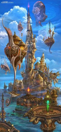 Steampunk Tendencies - Community - Google+Roxana Alarcon originally shared to BravART (Imagens/Gifs):   By Kazumasa Uchio